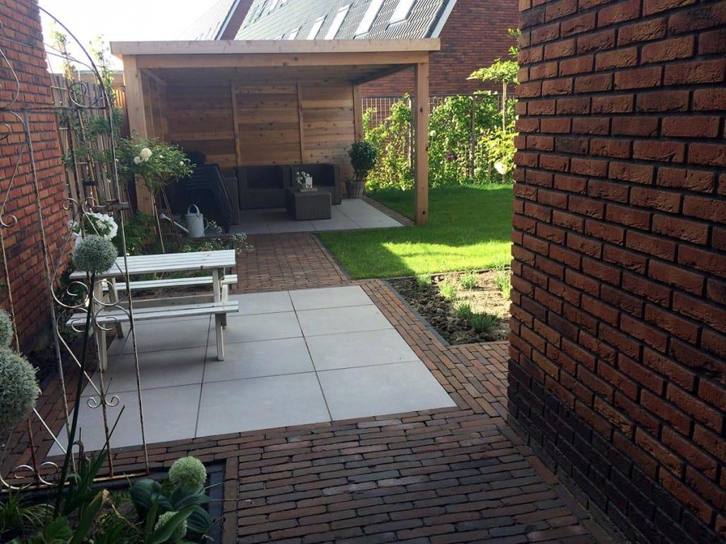 Complete voor en achtertuin bij nieuwbouwwoning for Tuinontwerp westland
