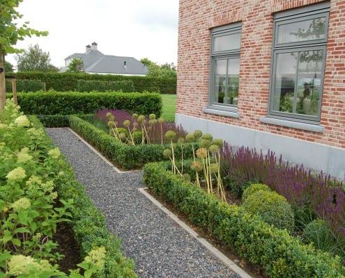 Beplanting vrijstaande woning